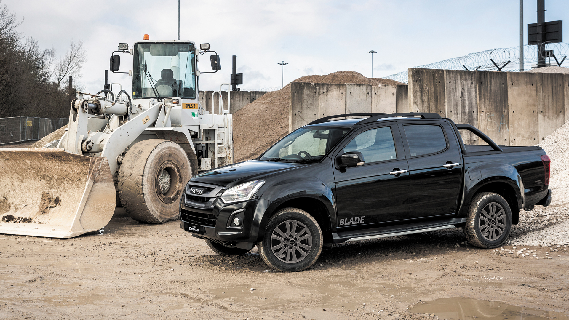 Our top of the range, luxurious Isuzu D-Max Blade in black