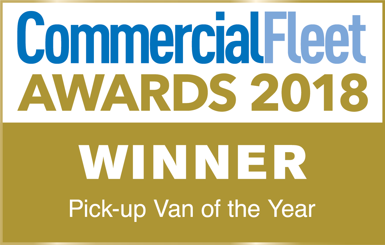 Commercial Fleet Pick-up of the Year Winner 2018
