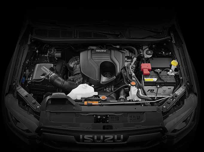 Engine room of the D-Max Blade
