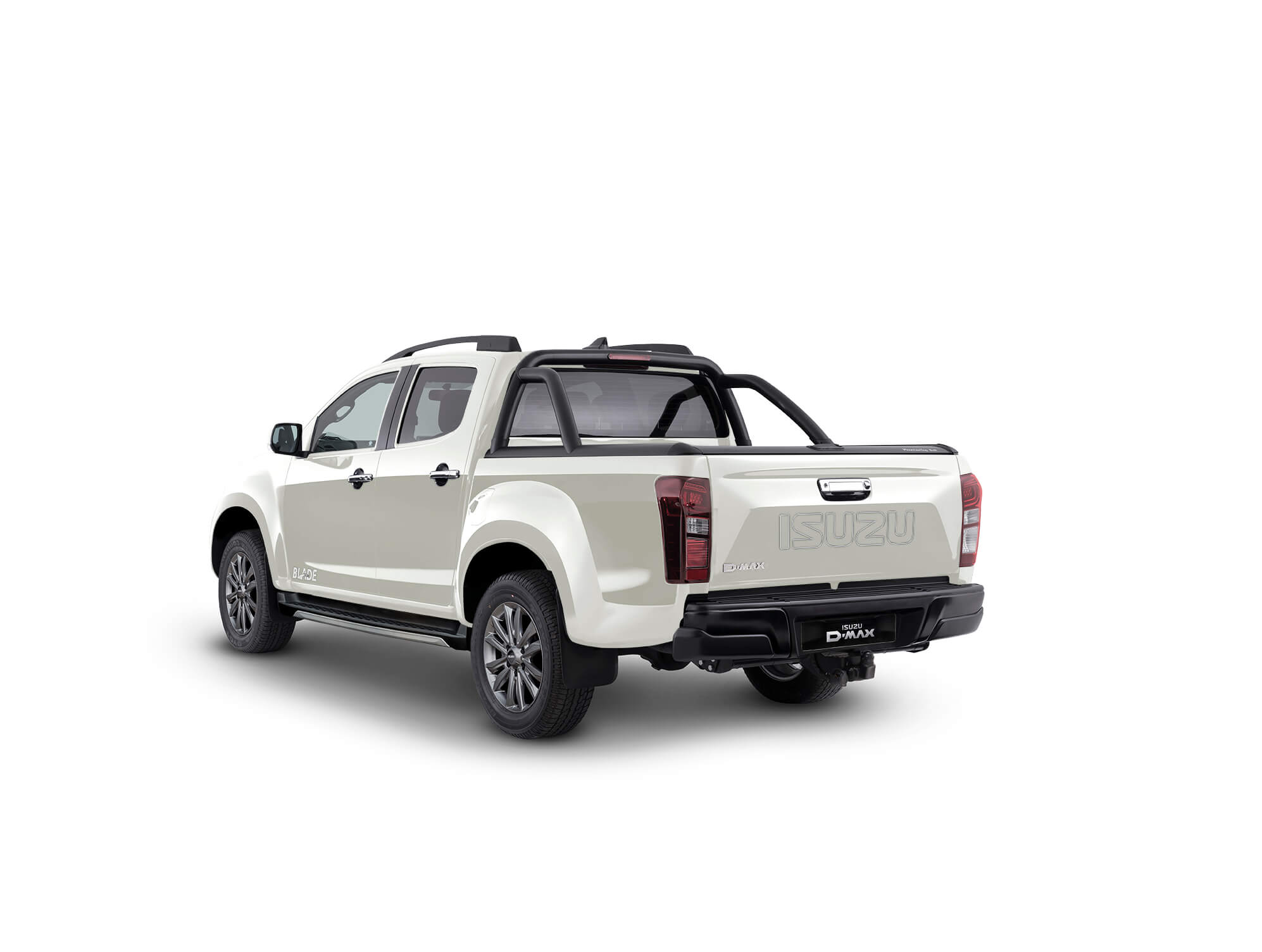 Rear view Isuzu D-Max Blade white