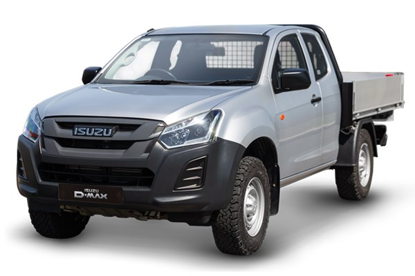 Isuzu D-Max Utility Extended Cab Tipper Conversion