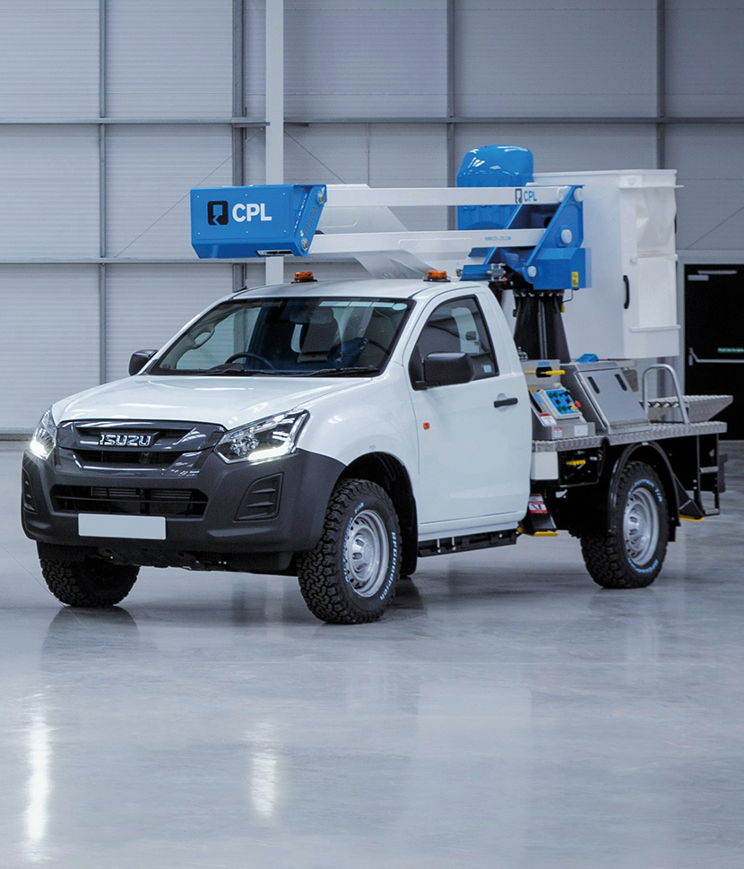 Award winning Isuzu D Max fleet service