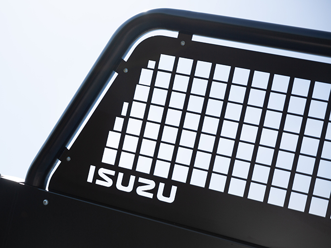 Isuzu D-Max Utility Extended Cab Tipper Conversion safety feature