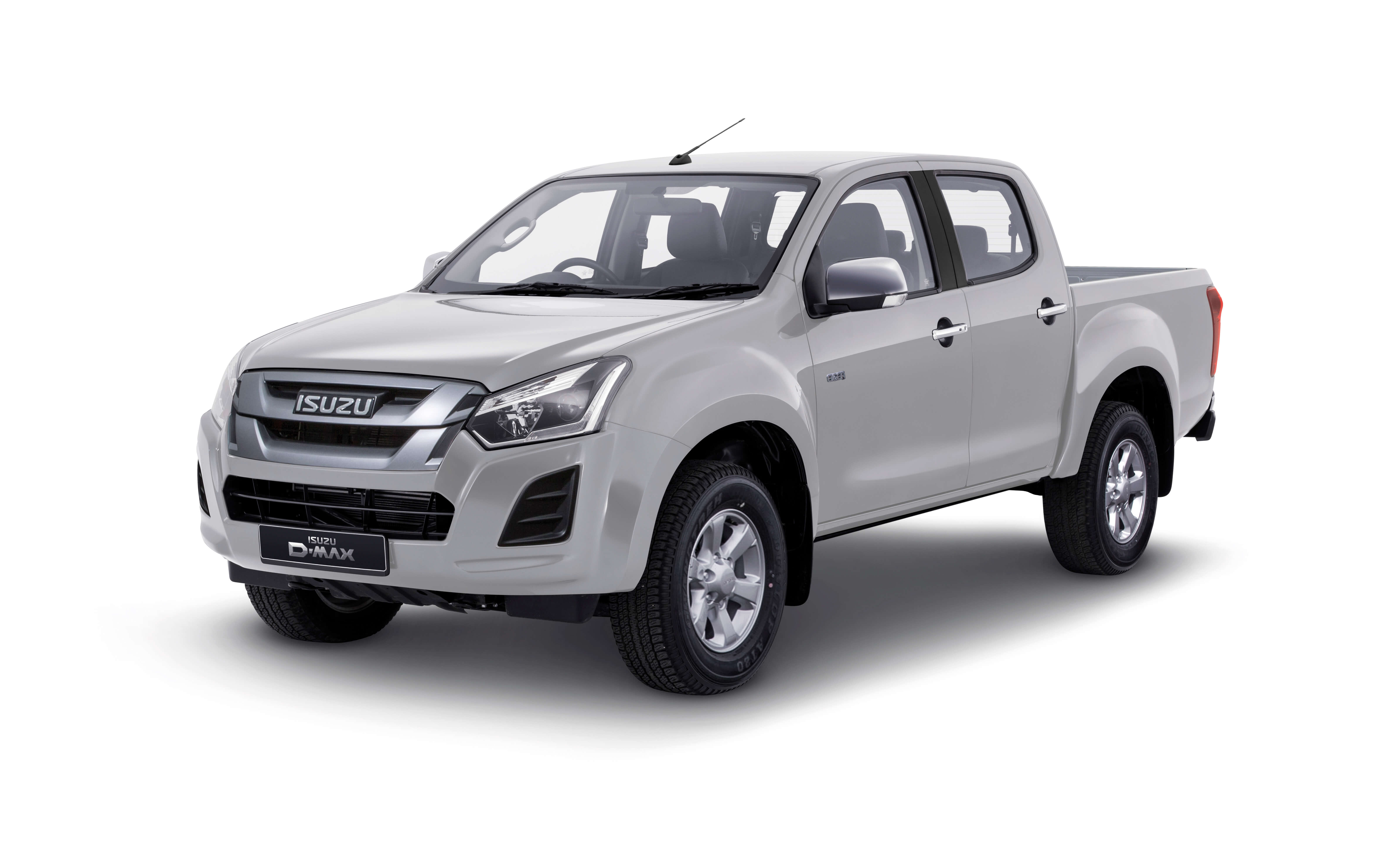 Isuzu D-Max Eiger front view in white