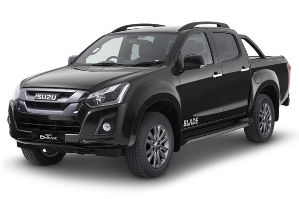 Isuzu D-Max Blade in cosmic black