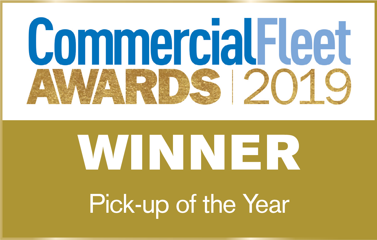 Commercial Fleet Pick-up of the Year Winner 2019